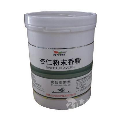 食物级杏仁粉末香精食物增添剂食用香精烘焙耐低温