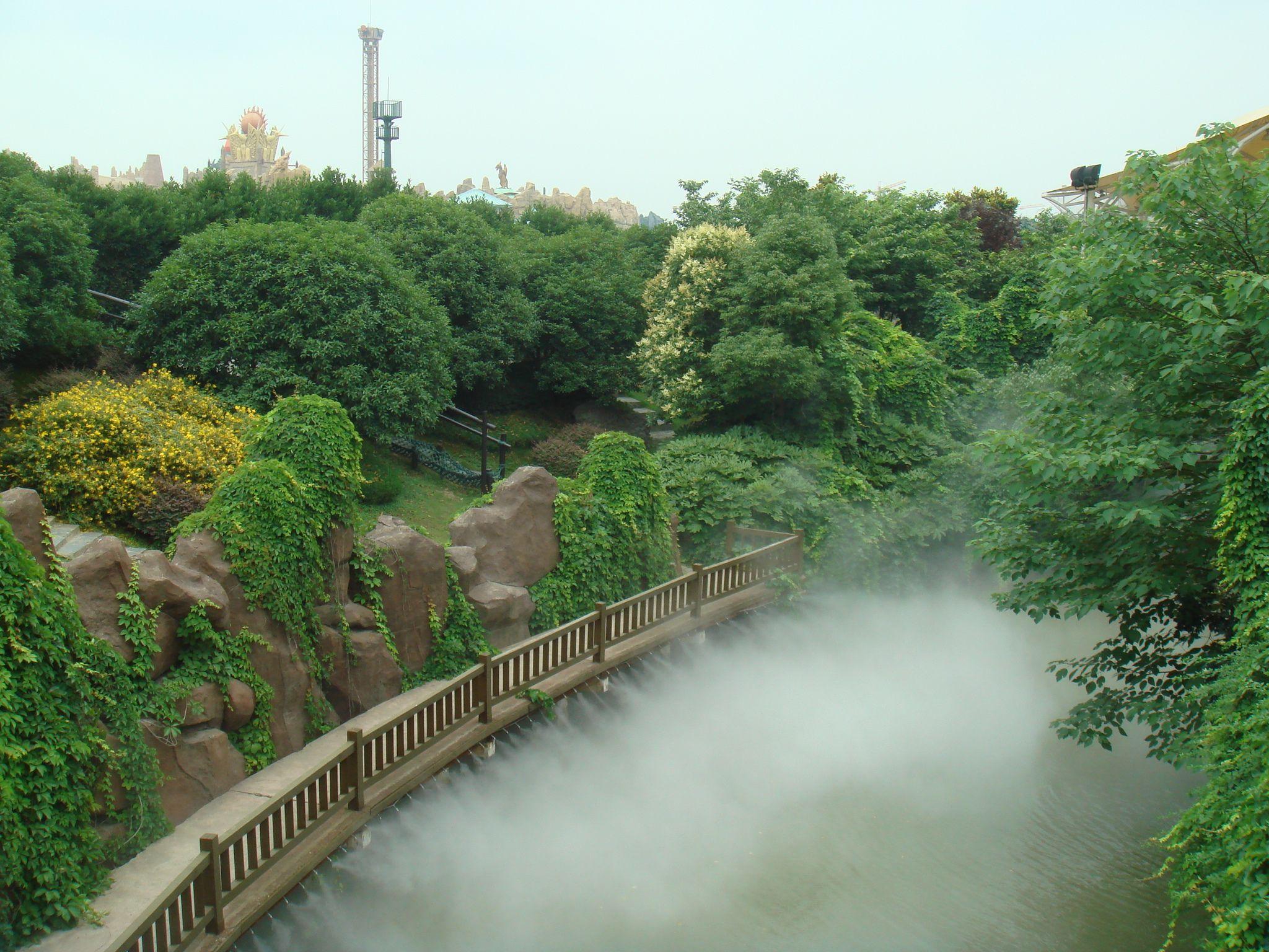 喷雾造景设备之冷雾系统