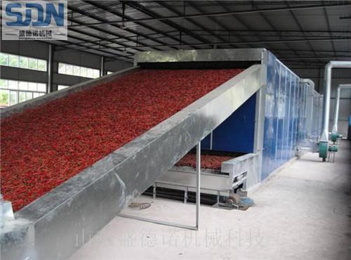 辣椒专用隧道式烘干机