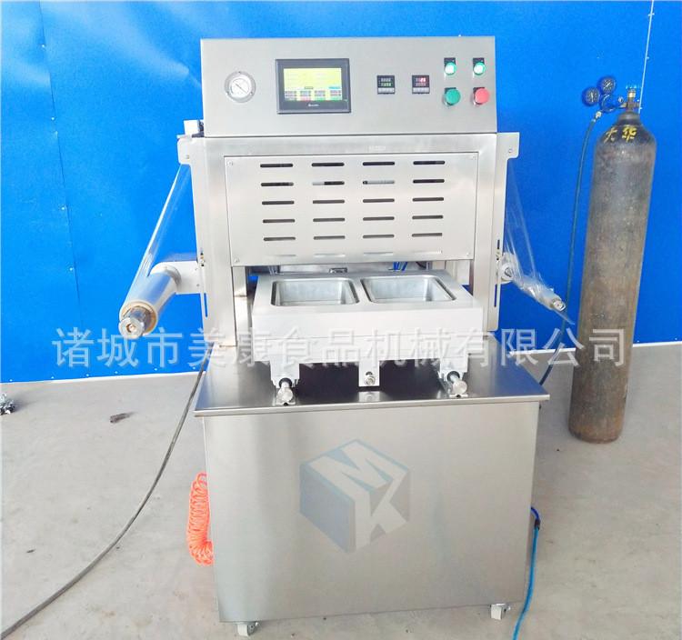 专业生产新鲜百合专用气调保鲜包装机 碗装果蔬保鲜包装设备