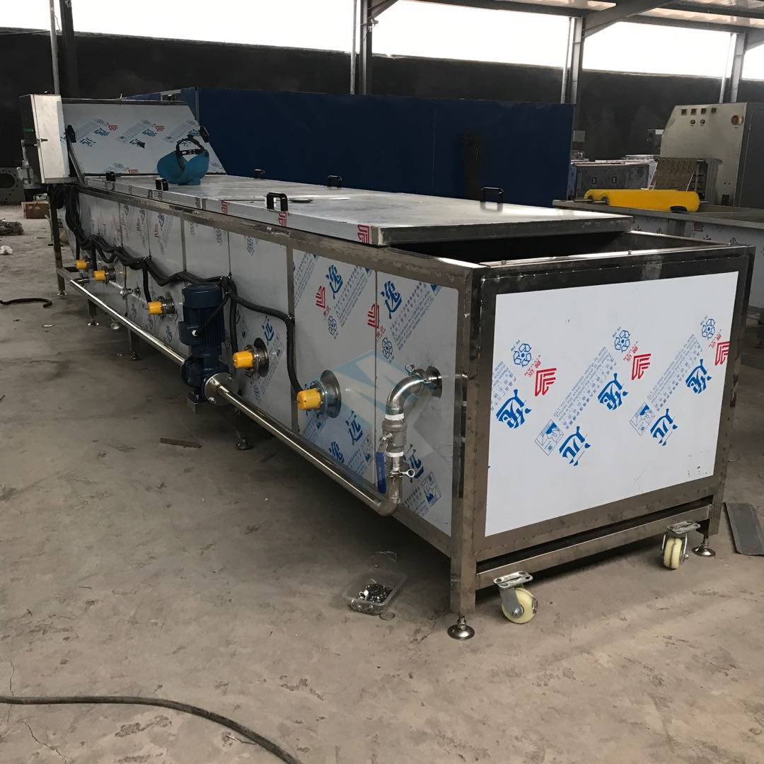 新型酸黄瓜清洗杀菌流水线生产厂家 酱黄瓜酱菜杀菌冷却设备