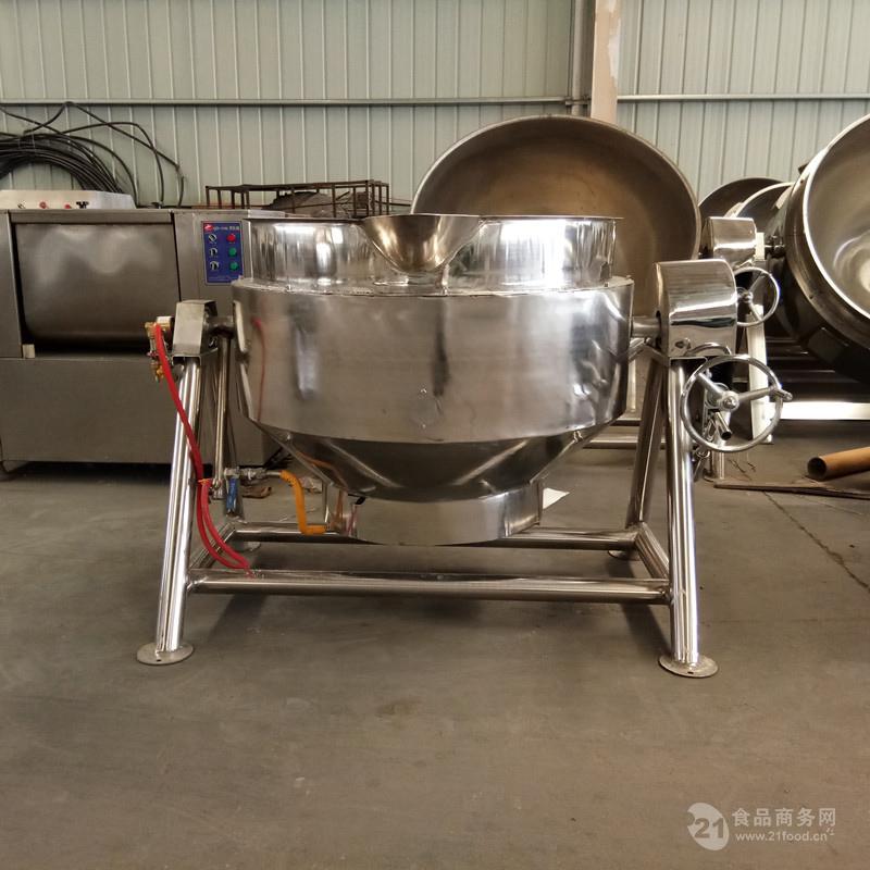 竹笋蒸煮锅 豆制品卤制夹层锅