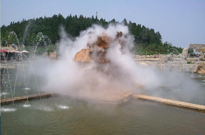 雾景系统 景区喷雾造景设备