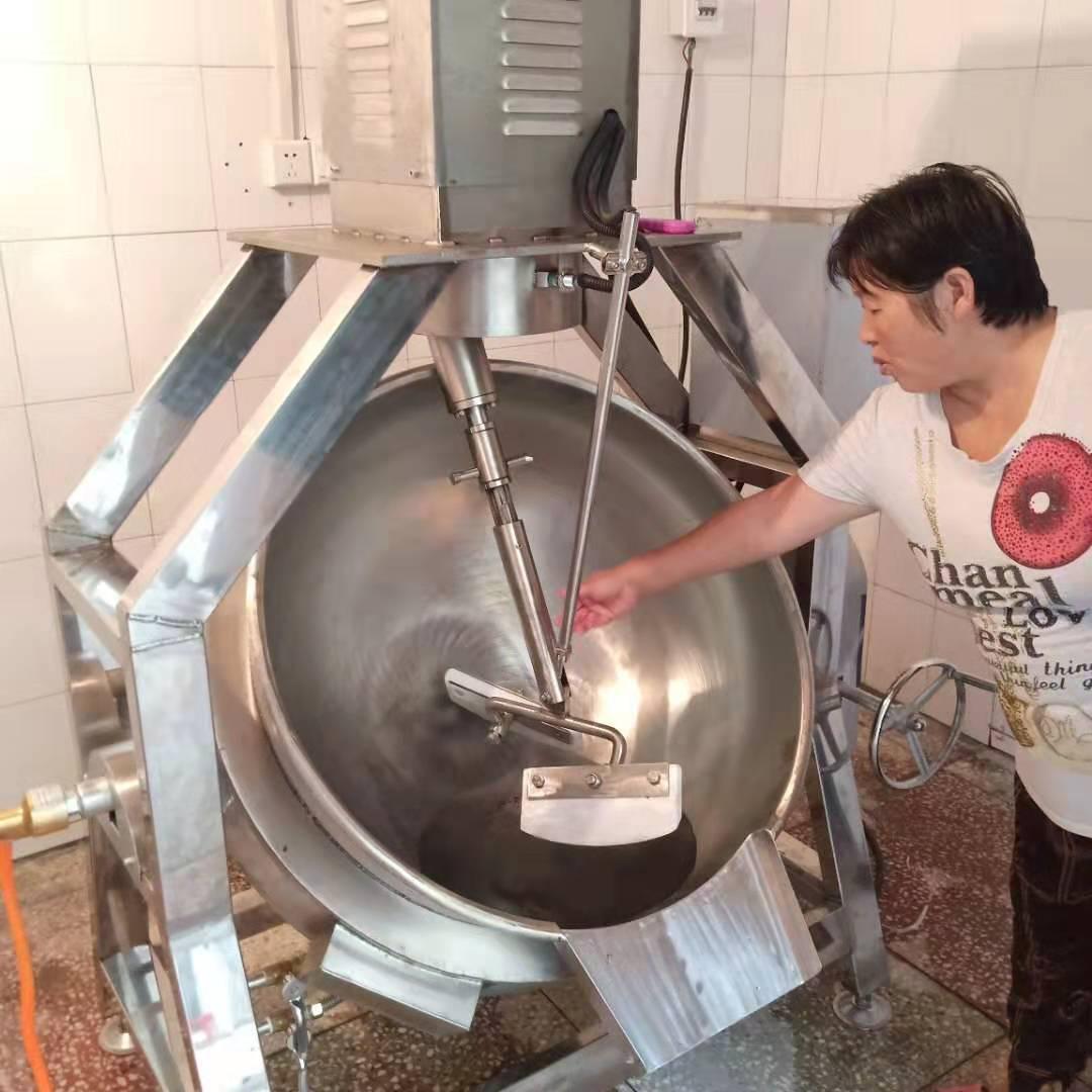 高粘度行星搅拌锅加热方式介绍