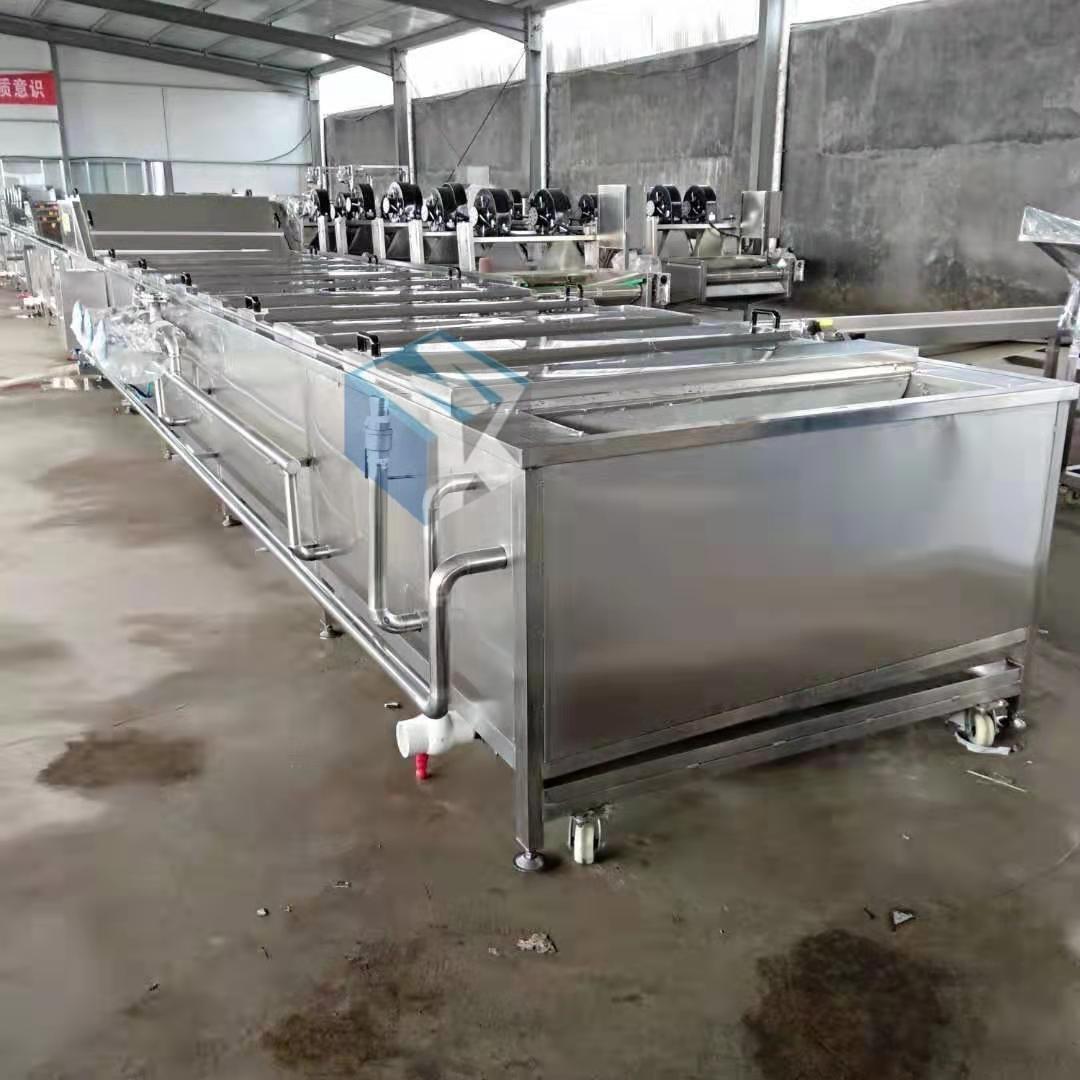 大型全自动中药材蒸汽蒸煮机 葛根连续式蒸煮设备