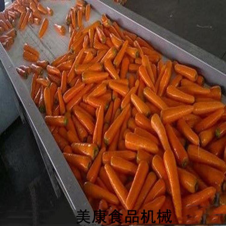 全自动胡萝卜干加工清洗设备 不损伤萝卜高压喷淋去泥清洗机价格