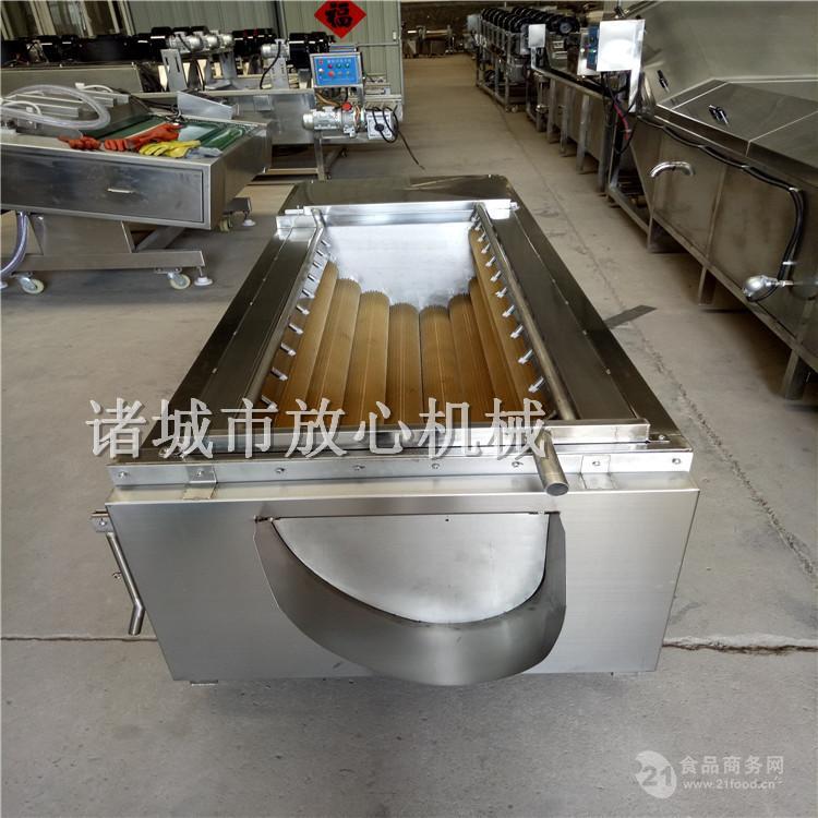 全自动土豆清洗去皮切片生产线