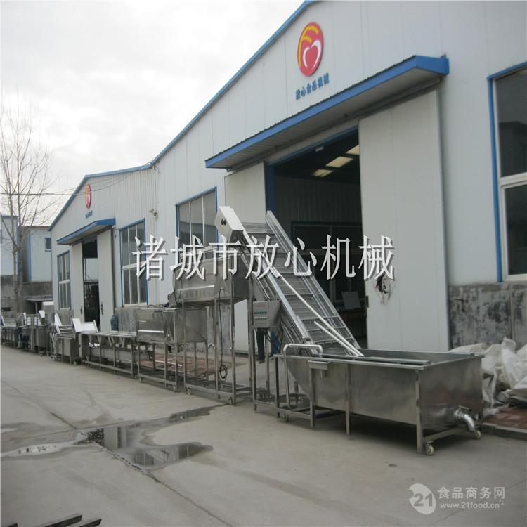 智能冷冻薯条成套设备专业厂家