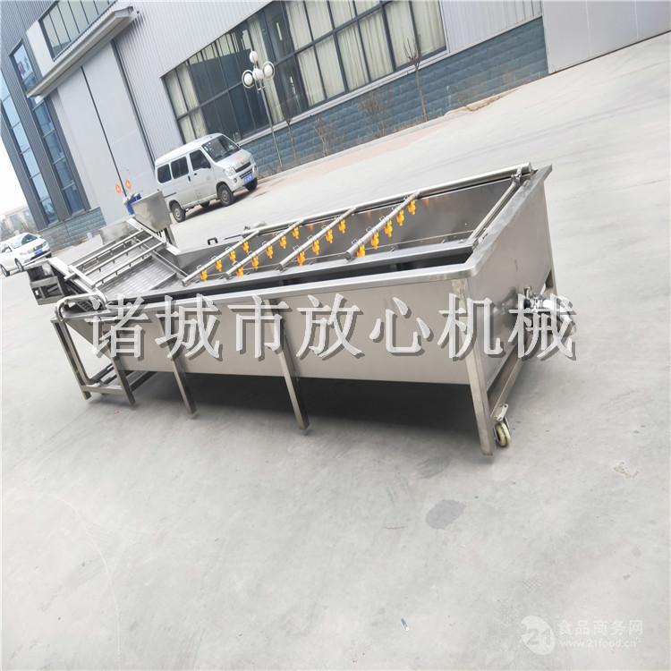 不锈钢FC-400蕨菜气泡清洗机技术