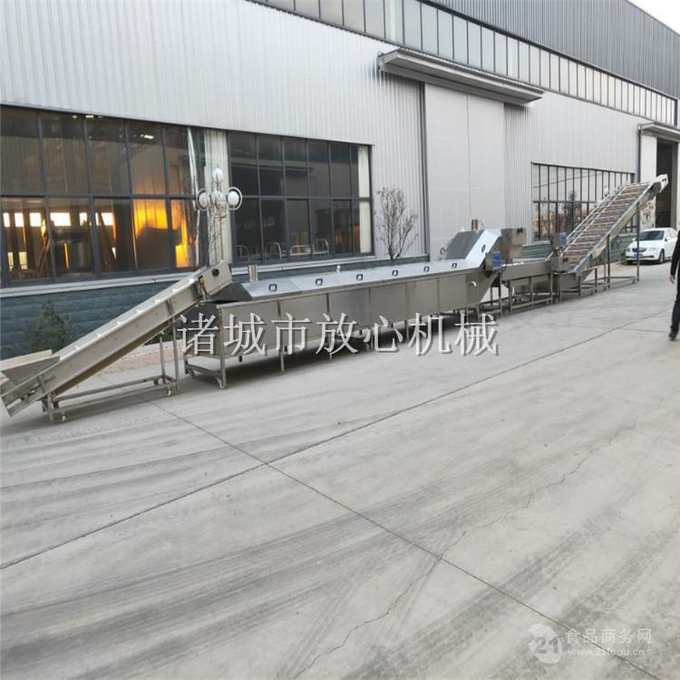 (供应)豆干连续式漂烫流水线 FXD-7000