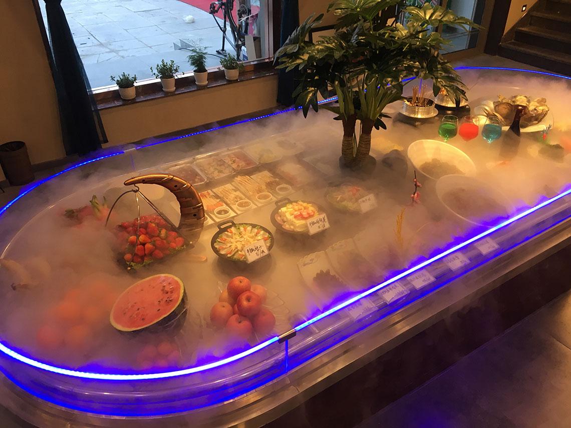 餐厅展台用蔬菜加湿器