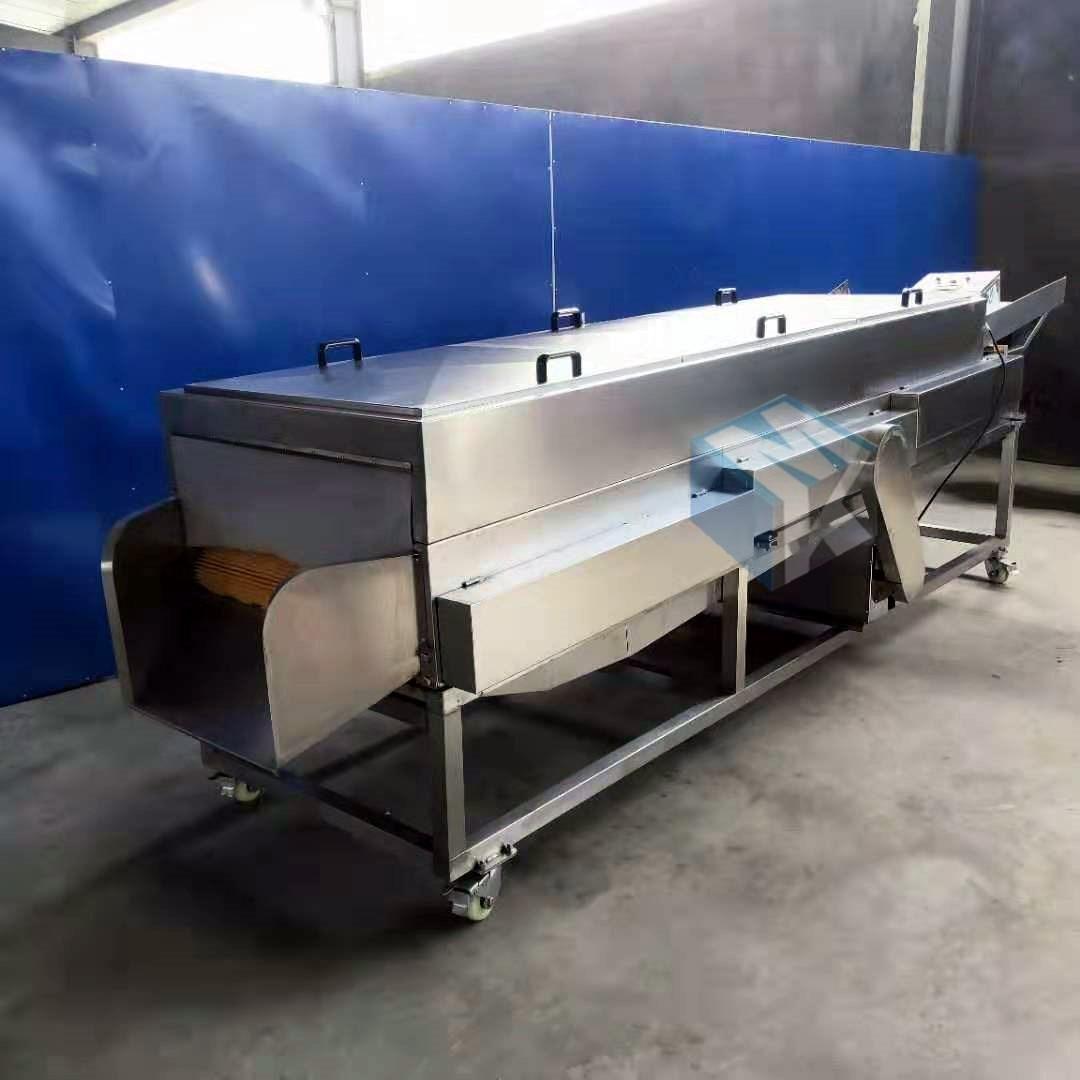 小型加工厂专用牡蛎清洗机 牡蛎自动清洗机器 海蛎子去泥