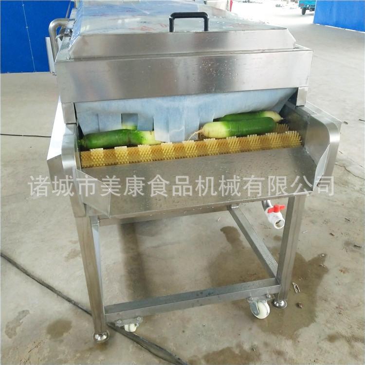 供应全自动白萝卜深加工清洗设备 青萝卜喷淋清洗机