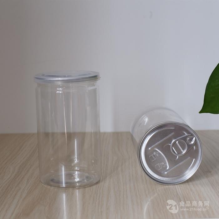 蜜饯果干易拉罐,食品塑料瓶,pet包装瓶,零食包装罐
