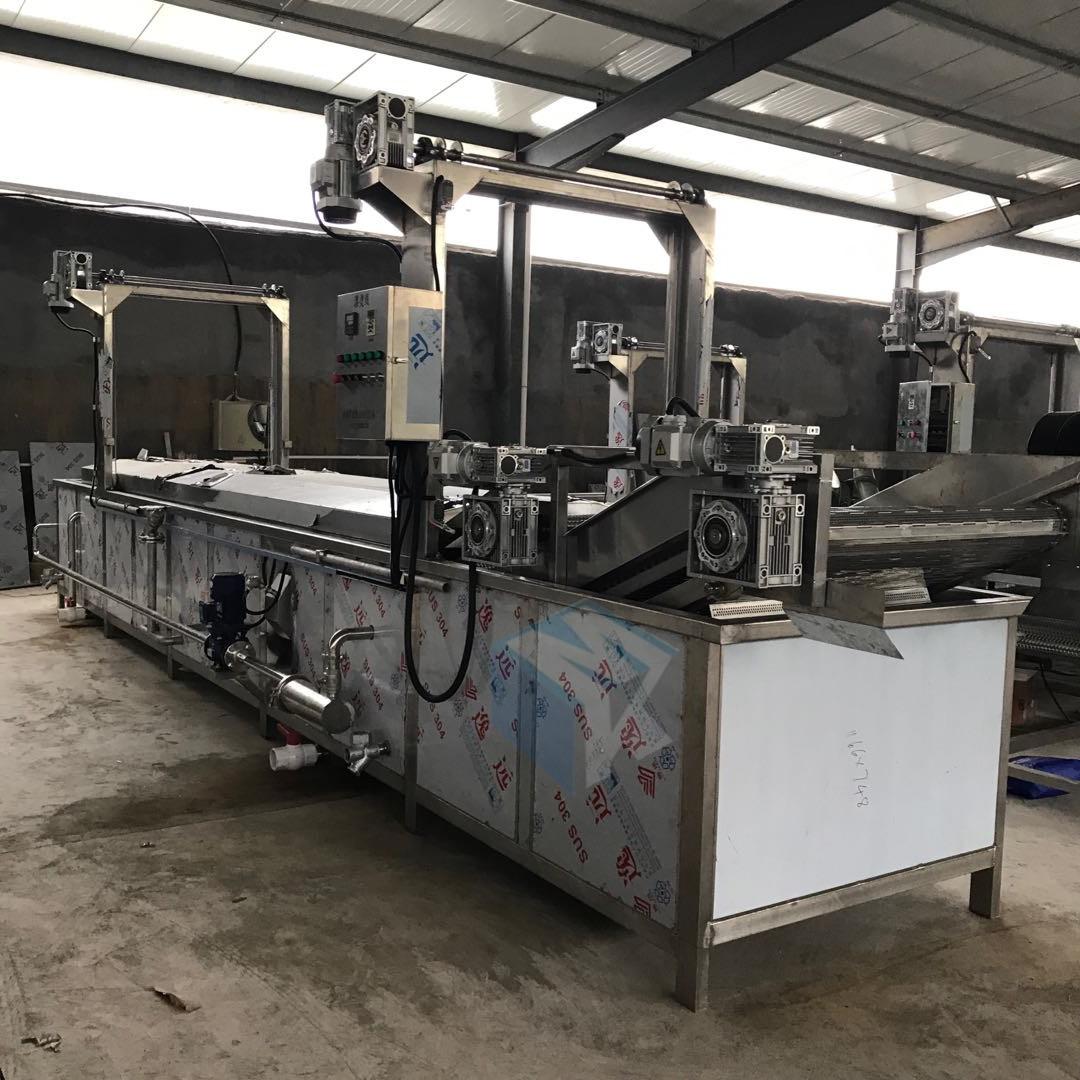 专业生产鸡爪气泡解冻机 酱卤肉制品加工前处理设备 化冻机器