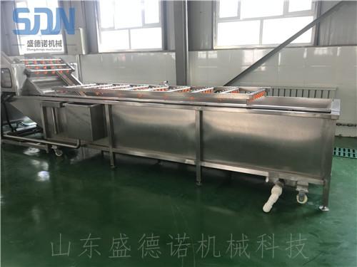 土豆丝加工设备 净菜加工生产线