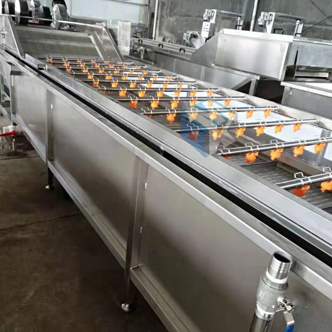 供应根茎类中药材清洗机 黄芩高压清洗流水线设备 洗药材机器