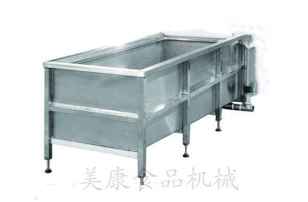 新型卤制鸭脖浸泡池 酱卤肉制品化冻机 鸭货清洗浸泡槽子
