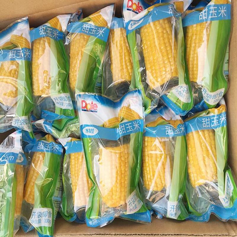 大型鲜食玉米真空包装加工设备 鲜食玉米蒸煮漂烫流水线