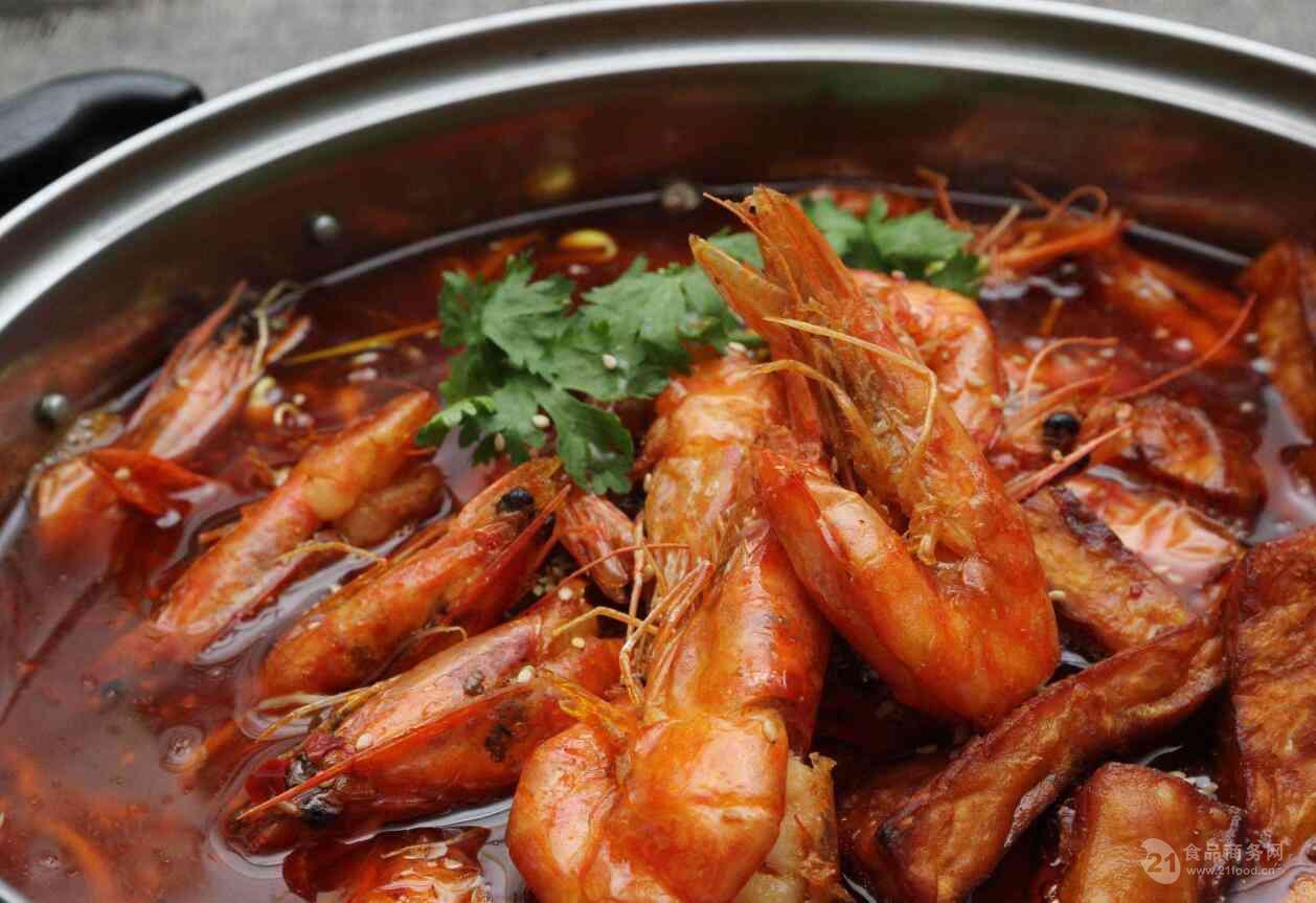干锅鸡尾虾用啥酱做香辣虾用啥调料用火锅底料干锅虾