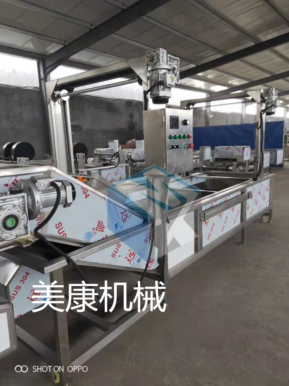 大型低温化冻专用流水线 连续式冻鸡胸肉解冻设备 肉制品解冻机