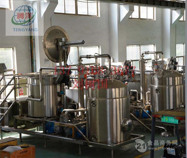 新疆和田脆枣低温高效专用全自动油炸机厂家