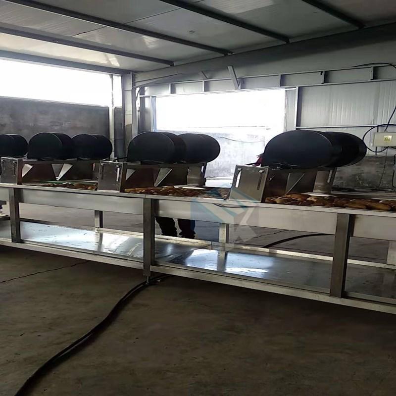 专业生产小包装袋杀菌吹干除水设备 蔬菜清洗风干护色干燥设备