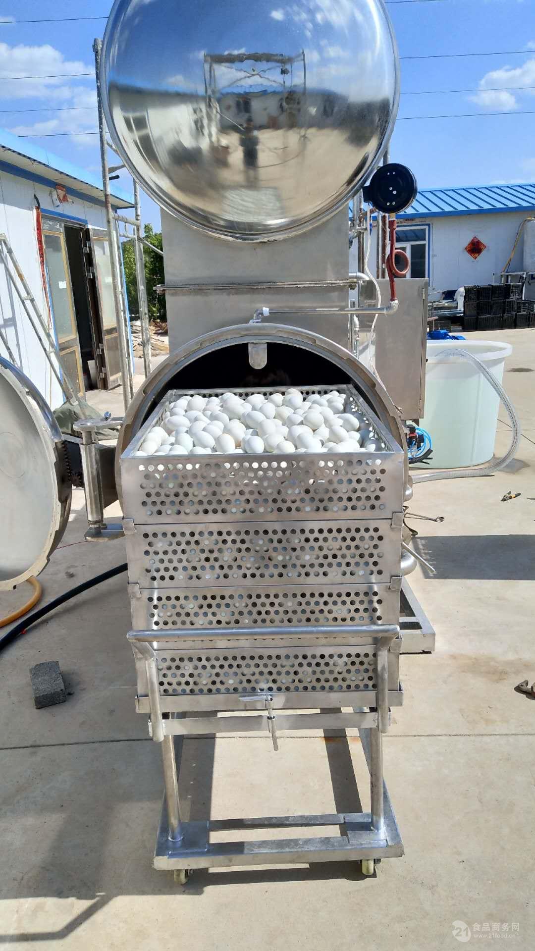 供应新品肉制品高温杀菌锅 真空包装烧鸡高温杀菌锅厂家