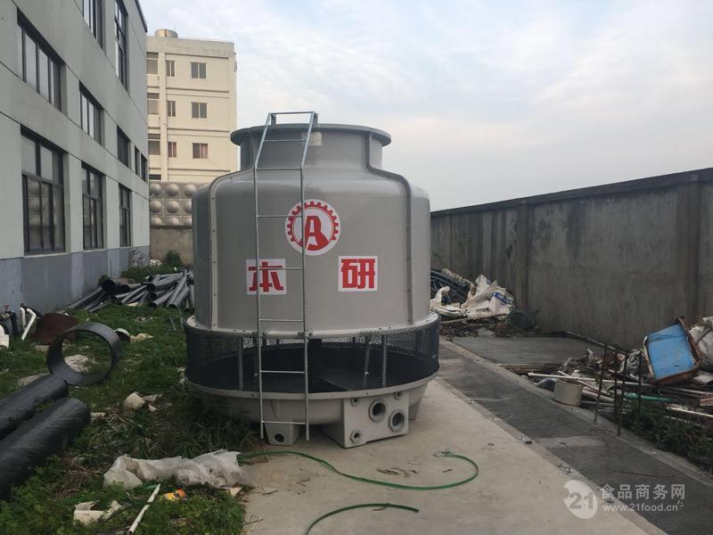 苏州昆山市100冷吨圆形冷却塔