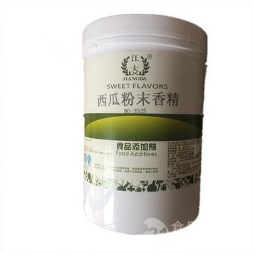 西瓜粉末香精食品级耐高温食用香精炒货烘培香精果汁饮料