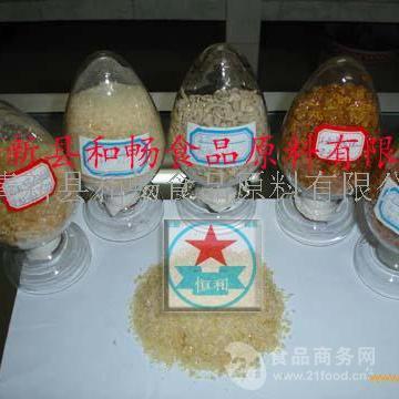 食品添加剂冰淇淋凝固剂明胶厂家现货价格