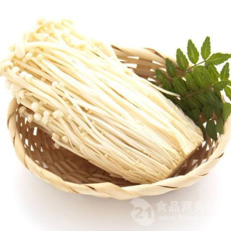 纯正白色金针菇