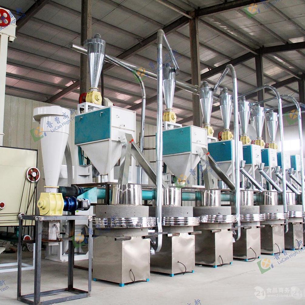 新型玉米面粉加工机组玉米成套设备玉米面生产线