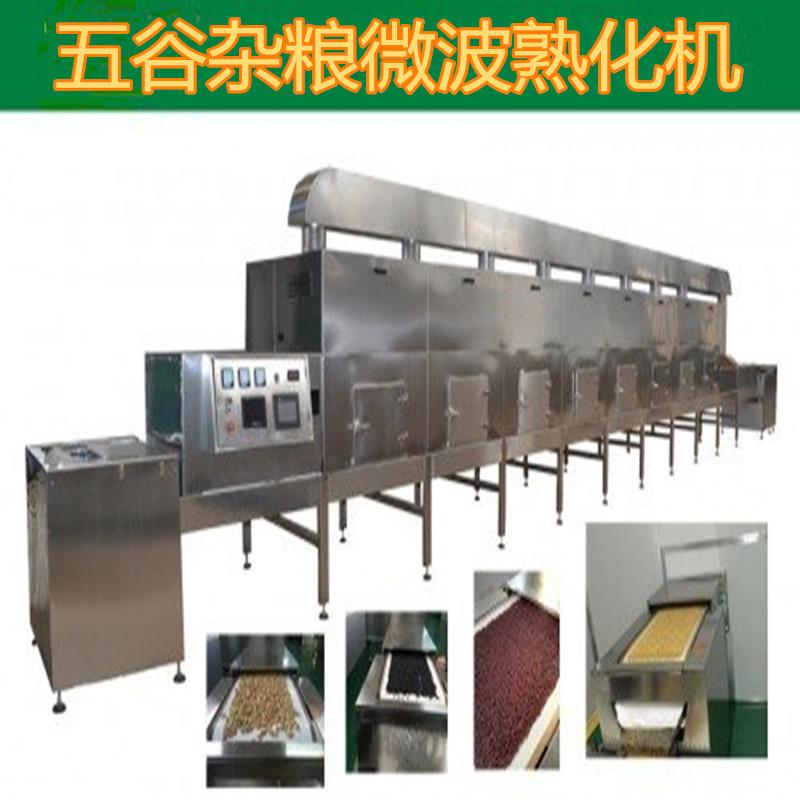 绿豆微波熟化机  微波熟化设备