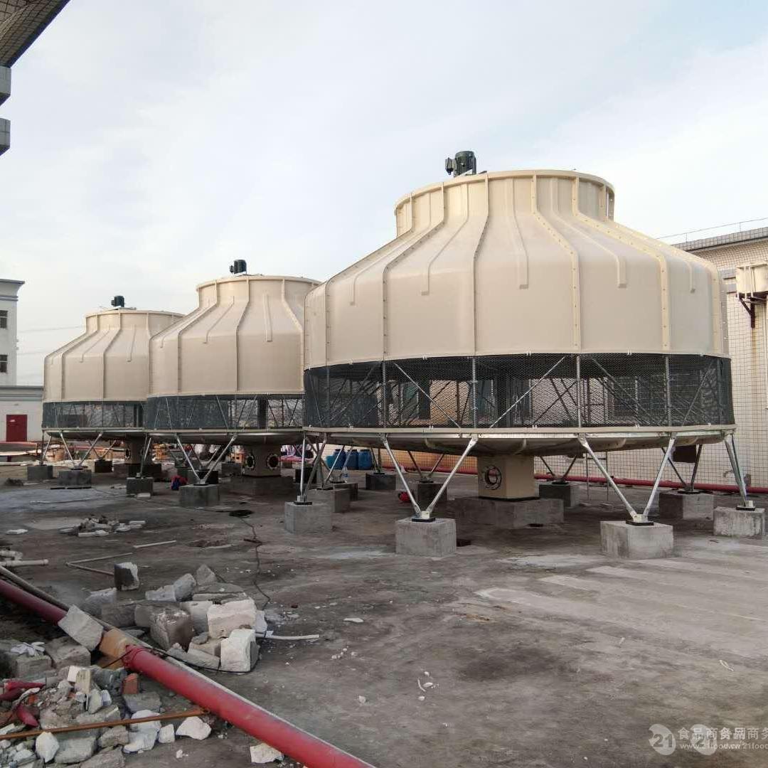 鹰潭市中央空调冷却塔 800T1000T注塑机冷却塔价格