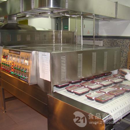 微波冷链盒饭加热设备的特点及应用