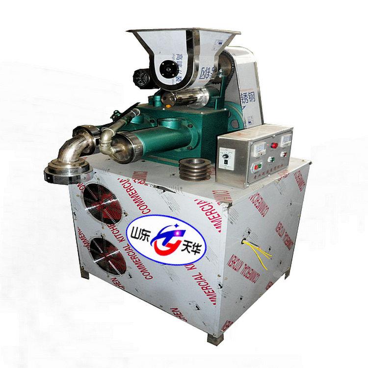 双螺杆自熟杂粮面条机冷面机