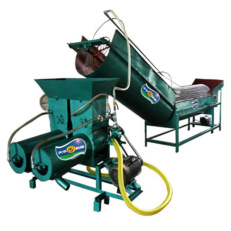 自动洗薯打粉浆渣分离一体式薯类淀粉机生产线