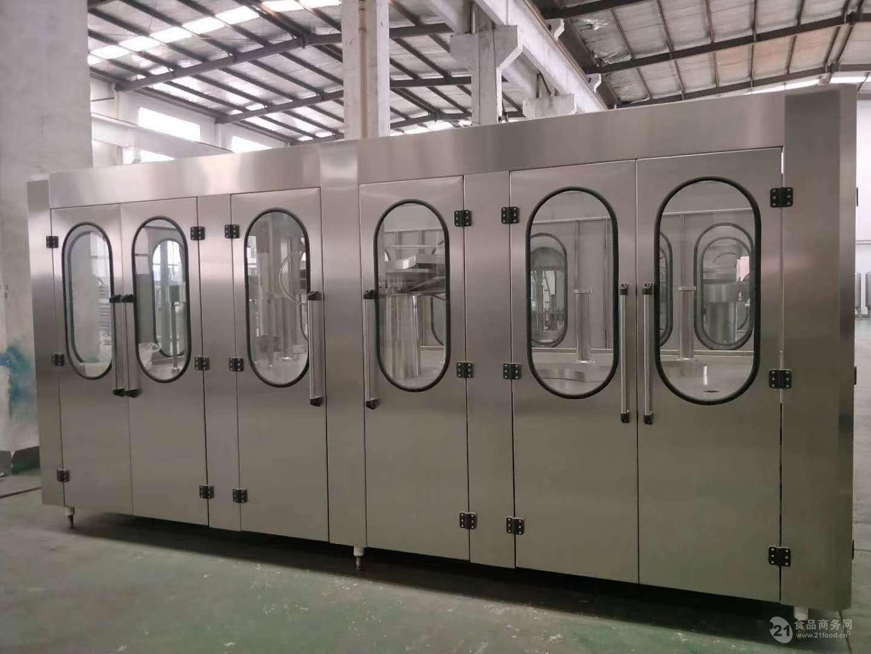 全自动苏打水灌装机成套生产线