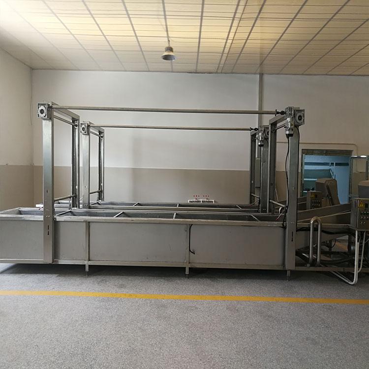PFT-8000全自动鱼罐头生产线