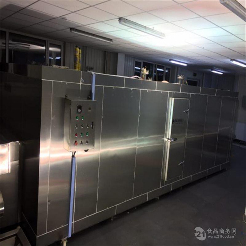 全自动玉米段隧道式速冻机 多功能冷库配套设备