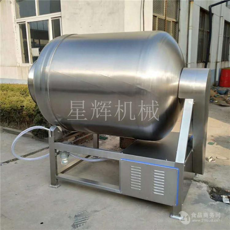 牛肉鸡肉鸭肉猪肉快速入味机腊肉火腿真空腌肉机全自动真空滚揉机