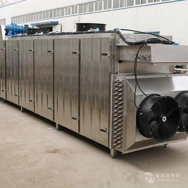 多层连续传送链条式烘干机为加工果脯助力
