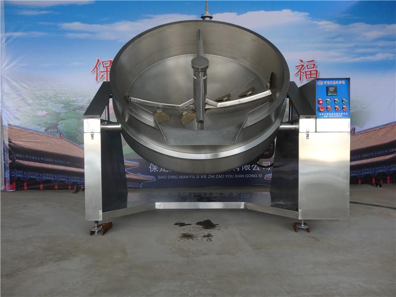食品机械双向搅拌炒锅