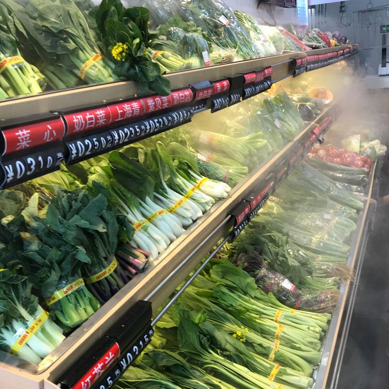 蔬菜货架加湿设备