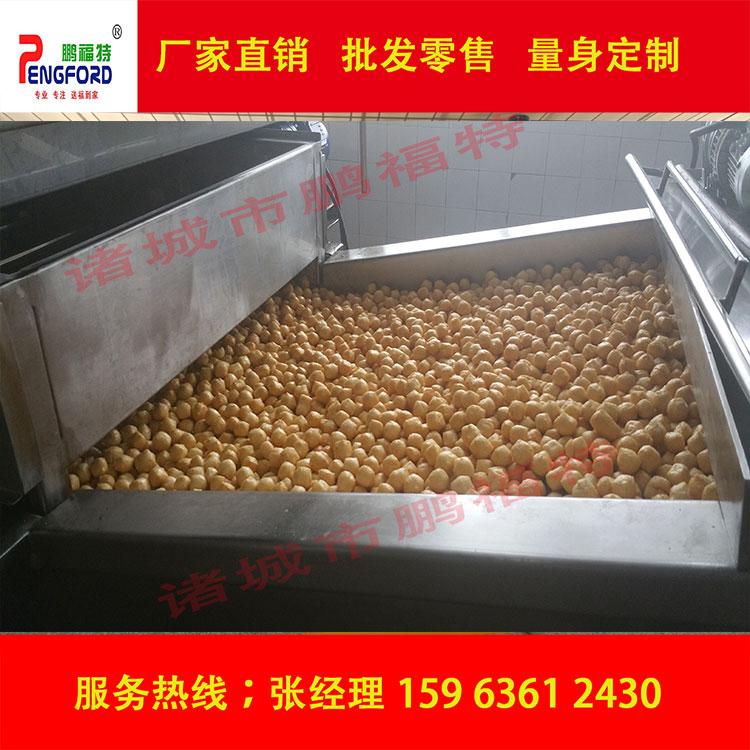 油炸豆泡 油豆腐专用生产线 炸豆泡生产线