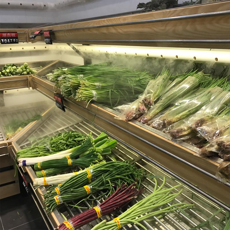 蔬菜架喷雾加湿机器