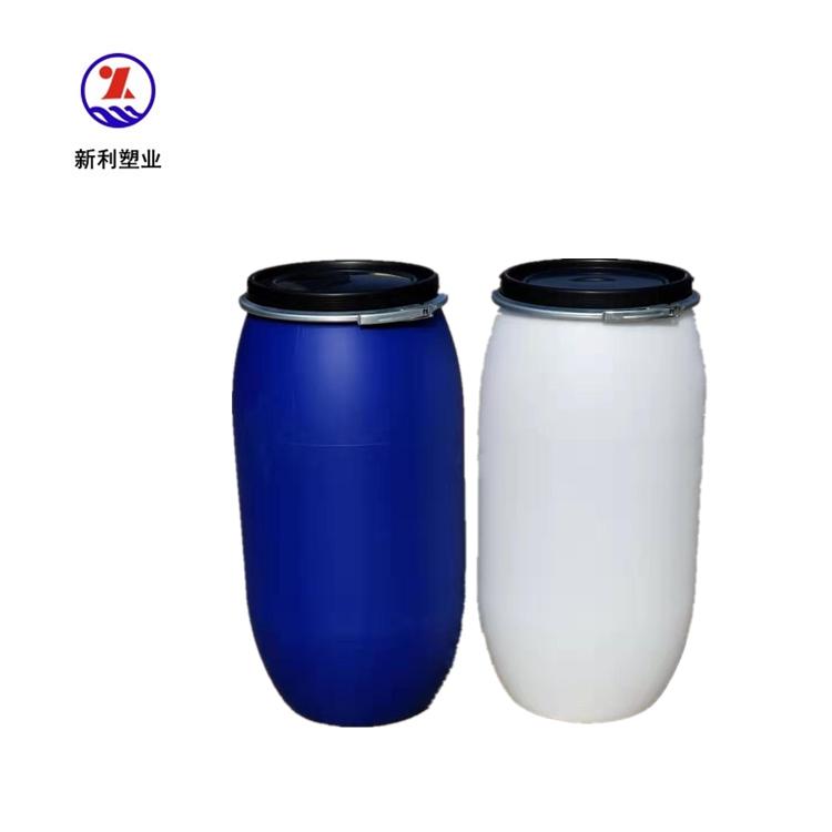 开口160升塑料桶法兰160公斤塑料桶