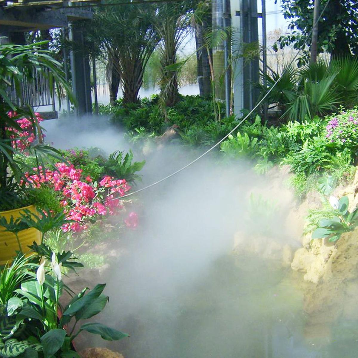 室外降温喷雾设备 高压喷雾加湿器
