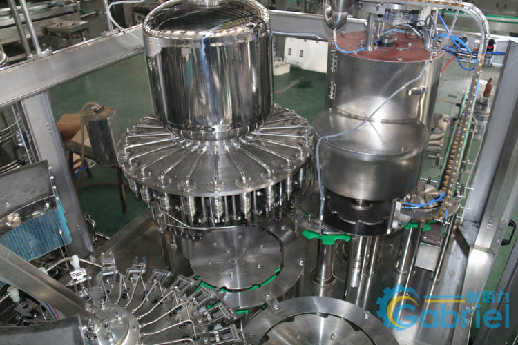 果汁饮料灌装机生产线